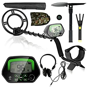 GOPLUS Metal Detector Kit for Adults, Metal Finder Treasures Seeking Tool High Accuracy Waterproof Treasure Hunting Tool…