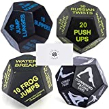 Juliet Paige Sports Dice for Exercise, Yoga, and Fitness