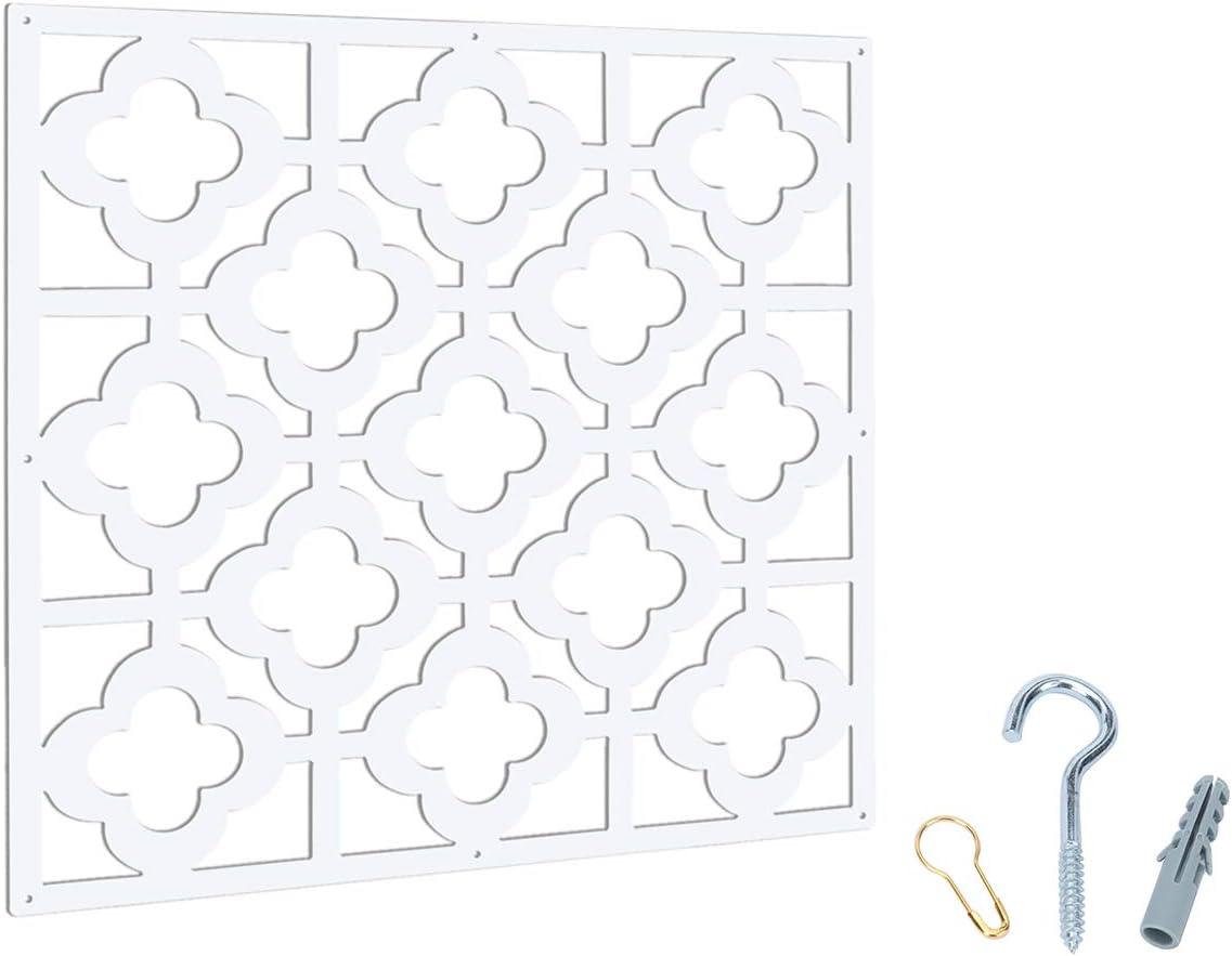 MYEUSSN - panel divisorio de 12 piezas, de plástico, adhesivo de ...
