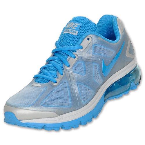 NIKE Women's Air Max Exellerate 040 Blue Shoes, 11 Medium US