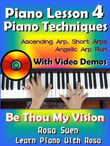 Piano Lesson 4 Easy Piano Techniques Simple Short Arps