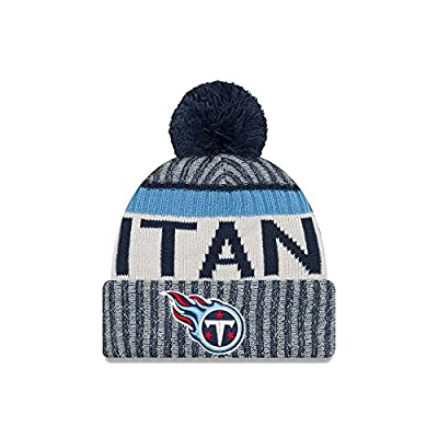 New Era Tennessee Titans NFL Sideline On Field 2017 Sport Knit Beanie Beany