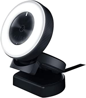 Razer Kiyo Ring Light Equipped Broadcasting Camera, (RZ19-02320100-R3M1)