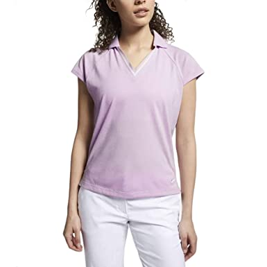 Nike W Nk Polo SS KT Burnout - Polo Mujer: Amazon.es: Ropa y ...