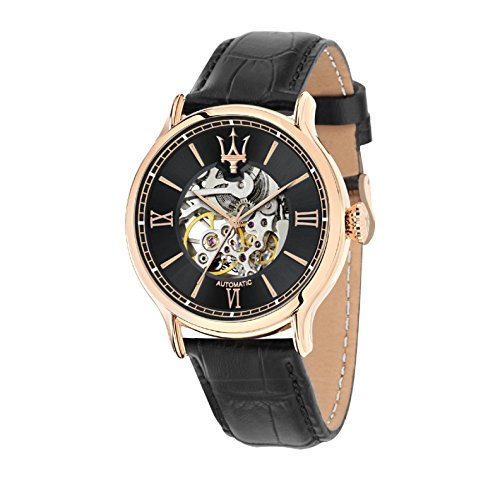MASERATI EPOCA AUTOMATC MOVEMENT SKELETON 45 mm MEN'S WATCH