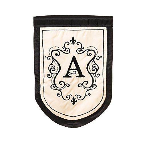 (Regal Monogram Garden Flag - A)