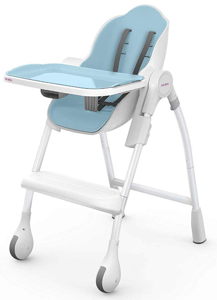 Oribel Cocoon High Chair- Delicious Collection, Blue Raspberry Marshmallow OR-205-90006