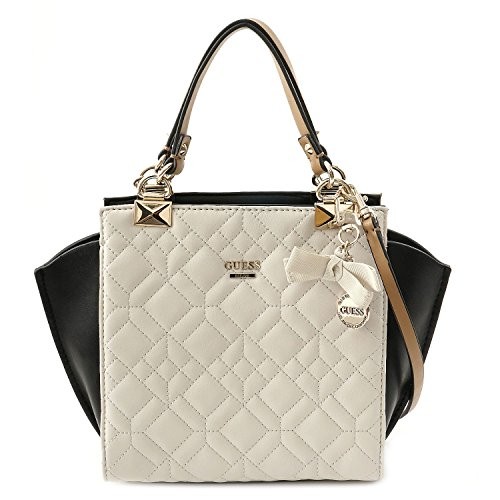 GUESS TASCHE - Ines - Small Satchel - Chalk Multi