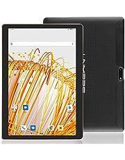 LNMBBS Android 9.0 Tablet de 10'' con WiFi 4GB de RAM y 64 GB de Memoria Tablet PC Procesador de Cuatro núcleos y Dobles Ranuras SIM y una Ranura TF Cámara GPS OTG