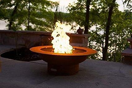 Fire Pit Art Saturn/lid-FPA-MLS120-NG NG, Metal - Amazon.com : Fire Pit Art Saturn/lid-FPA-MLS120-NG NG, Metal