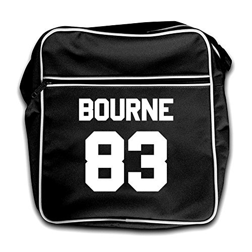 Retro Bourne Black Black 83 Flight Bourne 83 Bag Retro TRZqRw1d