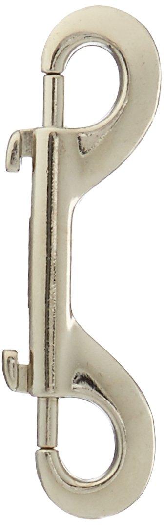 KinkLab Nickel-Plated Snap Hooks, 4-Pack