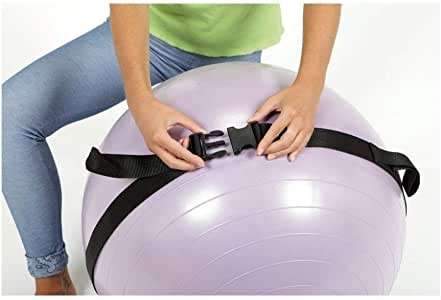 Swiss & Gym Ball Carry Strap: Amazon.es: Deportes y aire libre