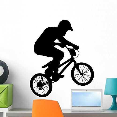 Cheap  Wallmonkeys Bmx Wall Decal Peel and Stick Graphic WM195807 (24 in H..