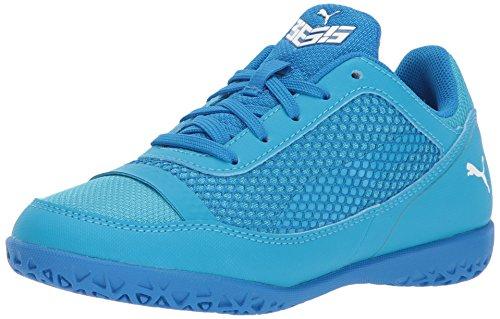 PUMA Unisex 365 NF CT Soccer Shoe, Electric Blue Lemonade White-Hawaiian Ocean, 12 M US Little Kid
