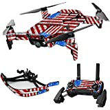 MightySkins Skin For DJI Max Coverage - Flag Drips | Protective, Durable, and Unique Vinyl Decal wrap cover | Easy To Apply, Remove, and Change Styles | Made in the USA