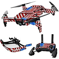 MightySkins Skin for DJI Mavic Air Drone - Flag Drips | Max Combo Protective, Durable, and Unique Vinyl Decal wrap cover | Easy To Apply, Remove, and Change Styles | Made in the USA
