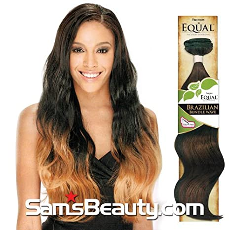 Amazon freetress equal synthetic hair weave brazilian bundle amazon freetress equal synthetic hair weave brazilian bundle wave 22 1 hair extensions beauty pmusecretfo Gallery