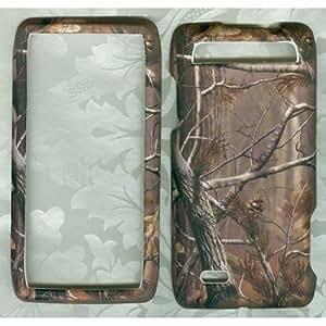 Camo Real Tree Rubberized Hard Plastic Case Hard Phone Cover Verizon Motorola Droid 4 / Xt894 Faceplate