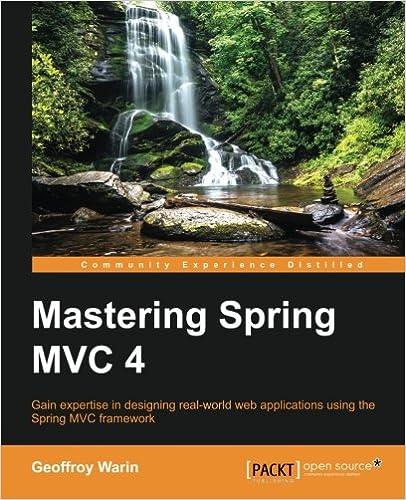 Mastering Spring MVC Geoffroy Warin