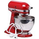KitchenAid 4 -1/2 Quart Bowl Lift Stand Mixer, (Red)