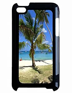 Vintage For Ipod Touch 5 Case Cover With Tourist Attractions Ocean Beach