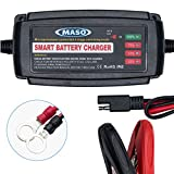 5 amp car battery charger - Car Battery Charger - MASO 12V 5 Amp 4 Stages Car Smart Charging Trickle Conditioner Lead Acid Battery Motorcycle Boat