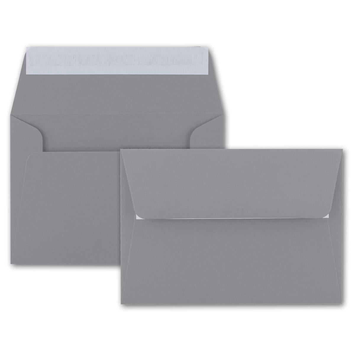 200x Brief-Umschläge B6 - Naturweiss - - - 12,5 x 17,5 cm - Haftklebung 120 g m² - breite edle Verschluss-Lasche - hochwertige Einladungs-Umschläge B078HH1Q6F | Einzigartig  56aae1