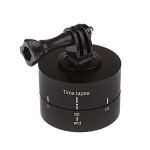 Segolike 360 Degree 120 Minutes Rotating Tripod Time Lapse Stabilizer for Gopro Hero Tripod Legs at amazon