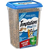 Temptations Mixups Cat Treats Surfer'S Delight, 16 Oz. Tub, Makes A Great Holiday Cat Stocking Stuffer