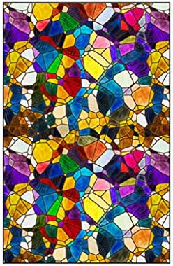 Iglesia Europea Colorear Vinilos para Cristales Opaco para ...
