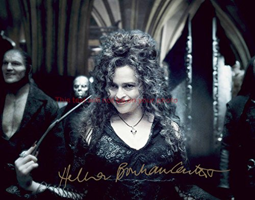 Harry Potter and the Half-Blood Prince Helena Bonham Carter Autographed 8x10 Glossy Photo