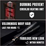 Geniecurl Auto Hair Curling Wand with Ceramic Ionic Barrel