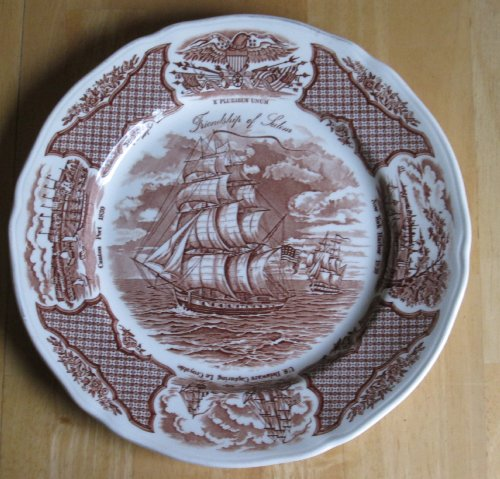 Vintage Collectable Wind Plate - Alfred Meakin 10 1/2