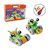 CARLORBO Take Apart Toys Racing Car Assembled Model Cars Construction Toy Kit-Build Your Own Car-Building Toys for 5 Year Old Boys Girls STEM Toy Playset