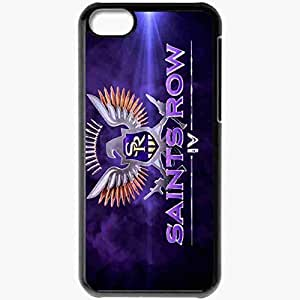Personalized Case For Samsung Galaxy S5 Cover Cell phone Skin Saints Row 4 Logo Games Black