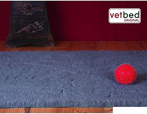 wangado manta Vetbed® Premium Gris para gatos manta para perros ...