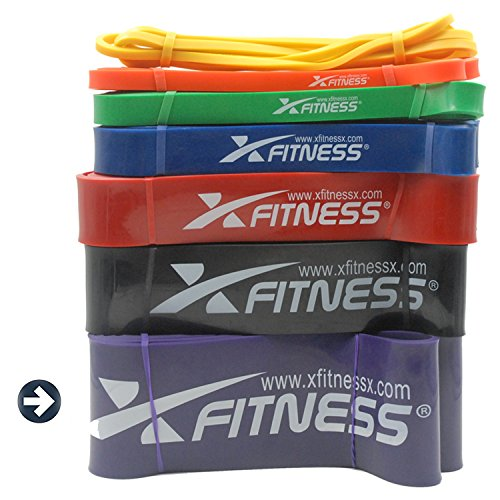 xFitness Pull Up Assist Band by Top Rated Stretch Resistance