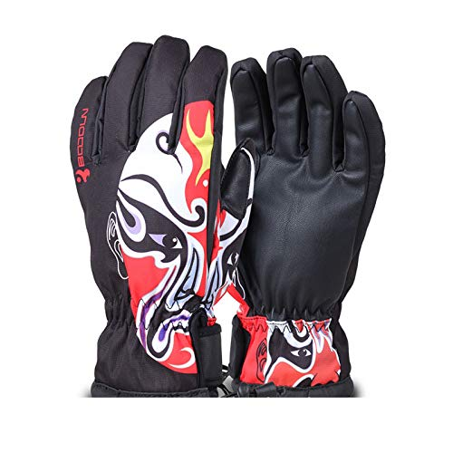 (Beydodo Running Gloves Men Cold Weather Bike Riding Gloves Men Cold Cycling,Riding,Running,Skiing,Outdoor Sports)