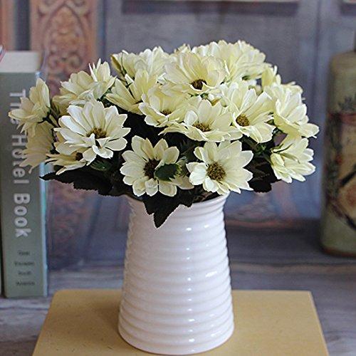 6 Branches 10 Head Floral Artificial Flower Bouquet Silk Flowers Spring Daisy - Spring Bouquet Daisy