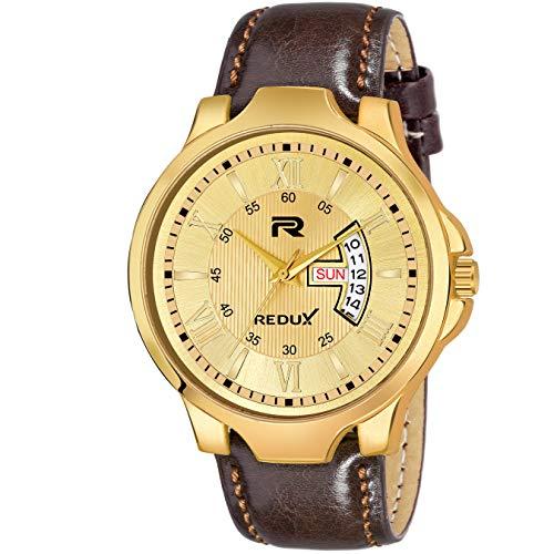 Redux Analog Brown Designer Dial Men's Watch