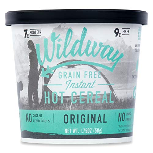 nstant Hot Cereal Cups - Original (Gluten-free, Paleo, Keto, Non-GMO) 1.75oz, Pack of 6 ()