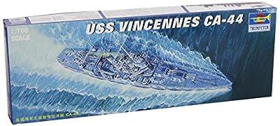 Trumpeter 1/700 USS Vincennes CA44 Heavy Cruiser Model Kit