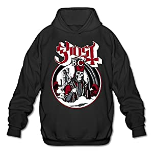 XJBD Men's Popestar-Ghost B.C. Hoodies Black Size XL