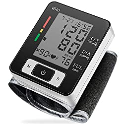 Fully automatic blood pressure monitor detects heart rate and blood pressure in 30 seconds, especially convenient for seniors to use at home.       Large LCD display and less than 45 seconds' response easy to use operations can show the measuremen...