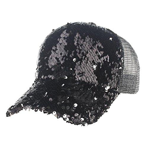 Big Bill Twill Work (Hunzed New Unisex Mesh Baseball Cap Fashion Patchwork Cap Sun Hat For Women And Men (Black))