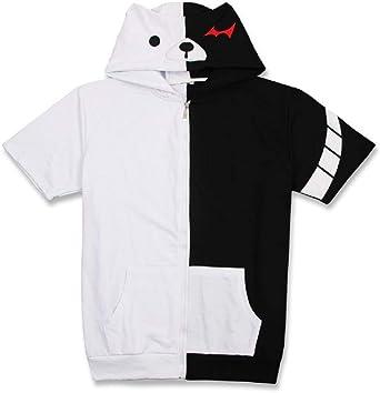 YOYOSHome Anime Danganronpa Short Sleeve Trigger Happy Havoc Tops Tees T Shirt Adult Cosplay Pullovers