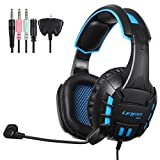 Alonea G10 Stereo Surround Gaming Headset Headband MicHeadphone (Blue)