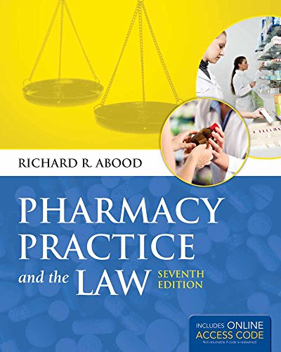 Pharmacy Practice and The Law (book)