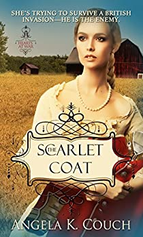 Scarlet Coat (Hearts at War) by [Couch, Angela]